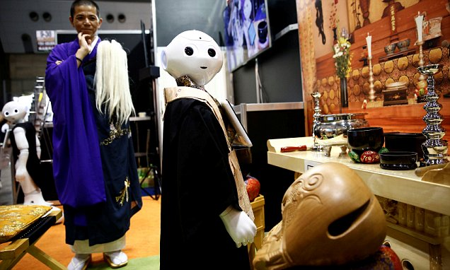 Buddhist robot priests in Japan