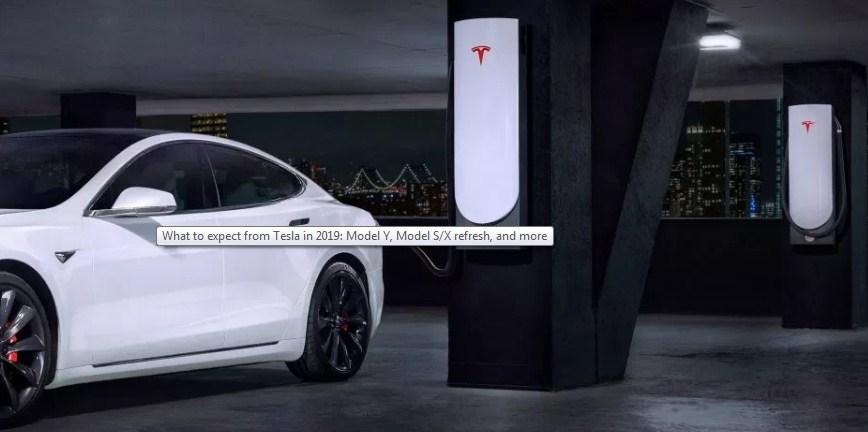 Tesla in 2019- Model Y