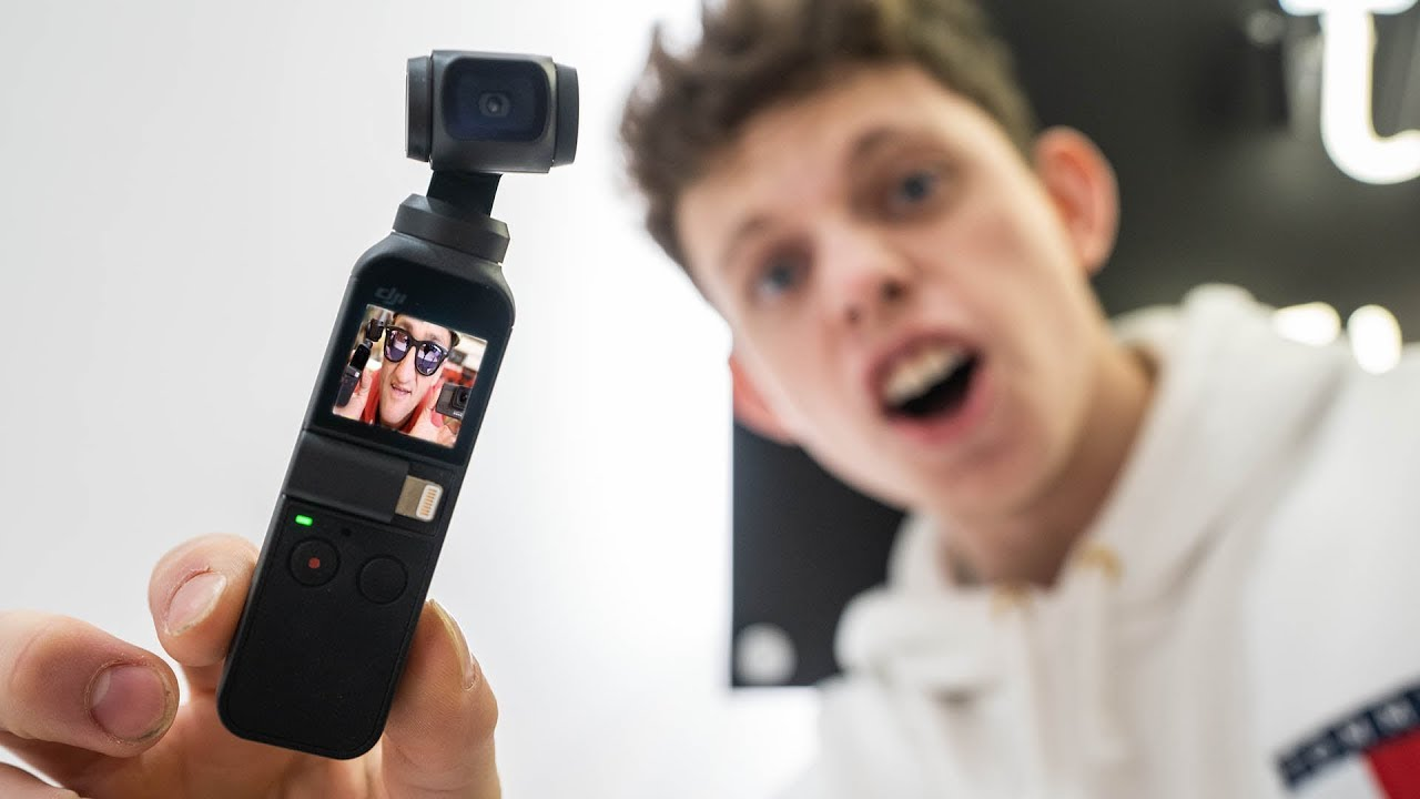 DJI Osmo Pocket powerful Gimbal