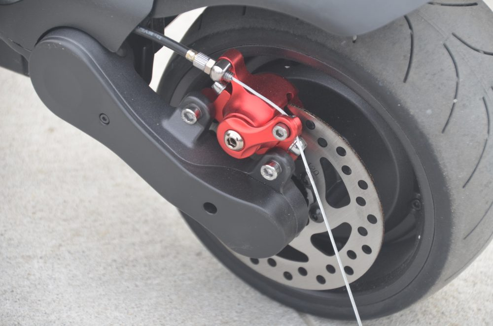 powerful widewheel electric scooter